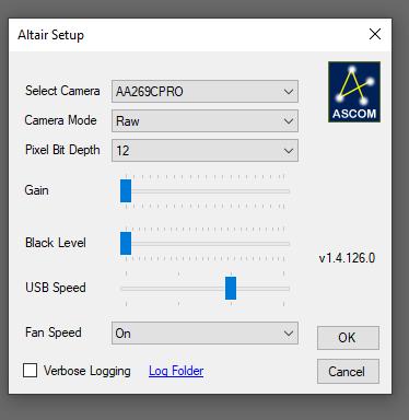 ASCOM Driver Frame Rate