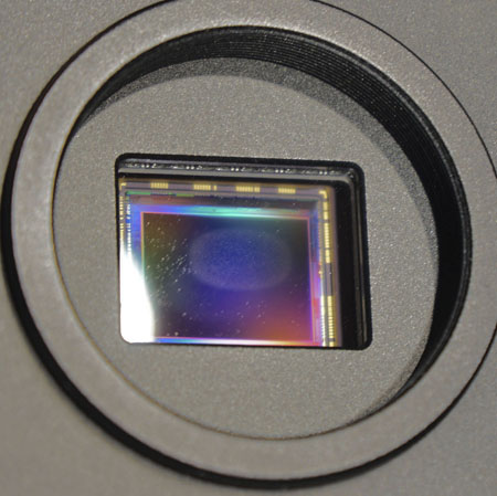 Dew Formation on OUTSIDE of optical window - TEC Camera